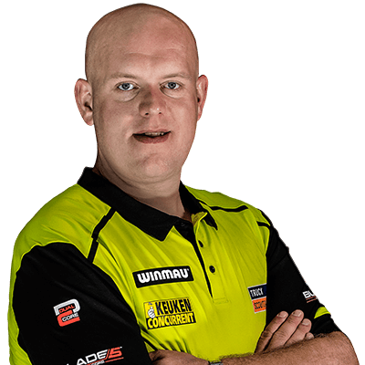 Our Players Michael Van Gerwen Red Dragon Darts