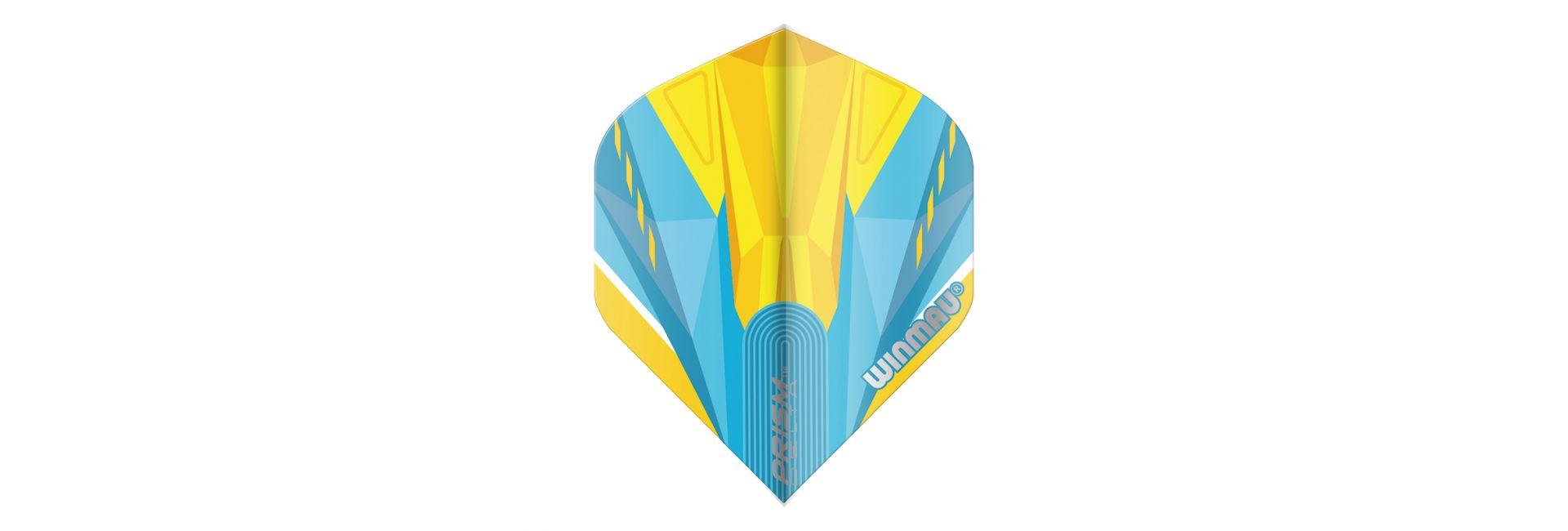 Winmau Prism Delta Blue & Yellow Dart Flights