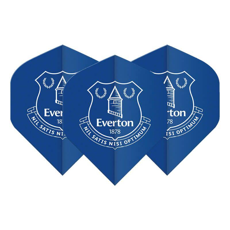 EVERTON FC 24g 90/% Tungsten Darts Set Winmau Prism Force Stems Everton Flights