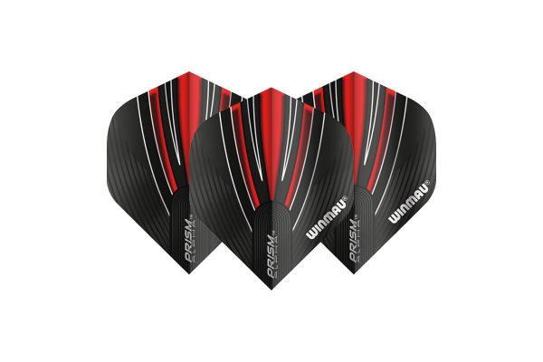 Winmau Prism Alpha Black & Red