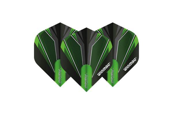 Winmau Prism Alpha Black & Green