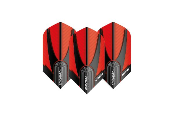 Winmau Prism Alpha Slim Red & Black