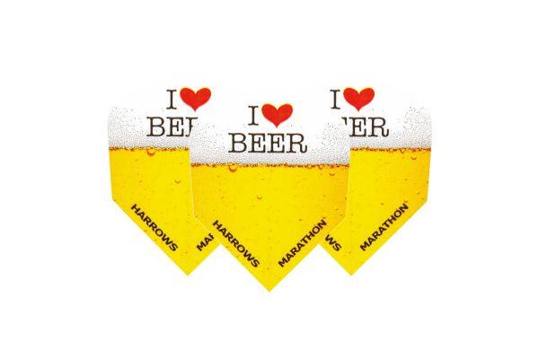 I Love Beer Dart Flights