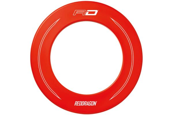 Red Dragon Branded Red Dartboard Surround Image 3