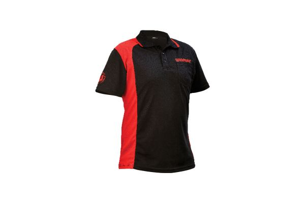 Winmau Wincool 2 Black & Red Dart Shirt - X large