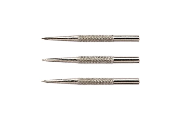 Red Dragon Specialist Dart Points - Silver Effect Knurled 32mm