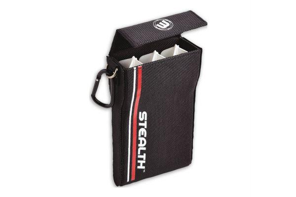 Winmau Stealth Dart Case - Black/Red