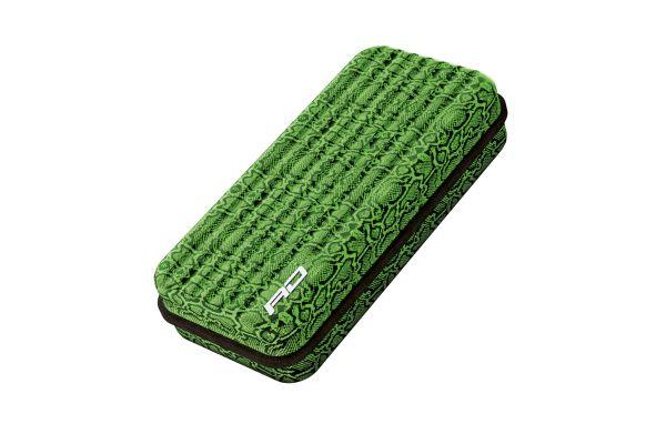 Monza Snakebite Green Dart Case