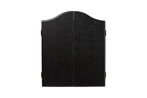 Winmau Black Ash Effect Deluxe Dartboard Cabinet