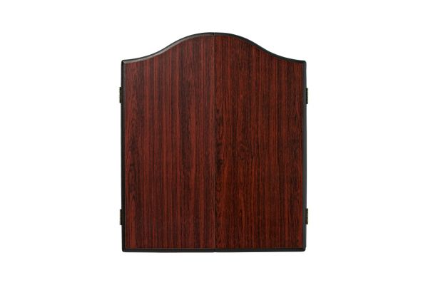 Winmau Rosewood Effect Deluxe Dartboard Cabinet