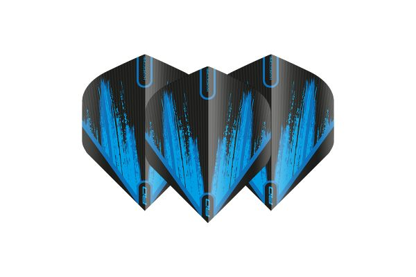 Hardcore Radical Black & Blue Dart Flights