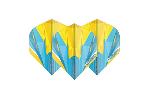 Winmau Prism Delta Blue & Yellow Dart Flights