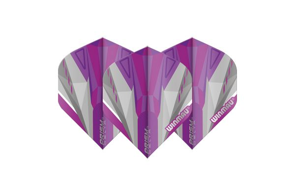 Winmau Prism Delta Purple & White Dart Flights