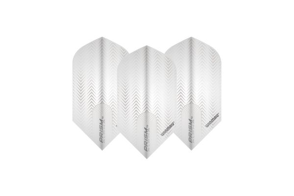 Winmau Prism Delta Slim White Dart Flights