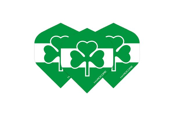 Hardcore Ireland Flag Dart Flights
