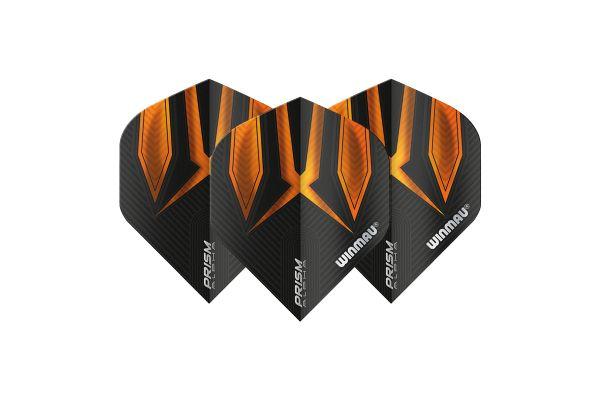 Winmau Prism Alpha Black & Orange Dart Flights