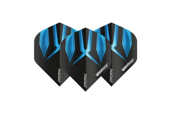 Winmau Prism Alpha Black & Blue Dart Flights