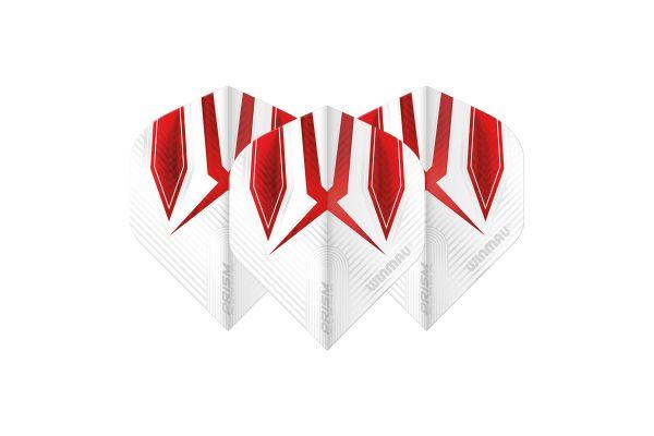 Winmau Prism Alpha White & Red Dart Flights
