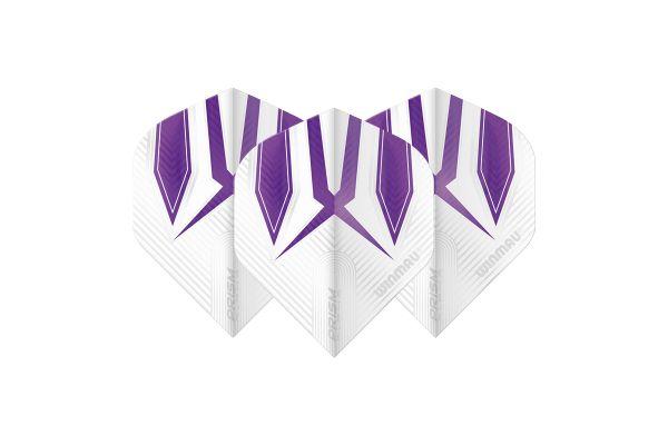 Winmau Prism Alpha White & Purple Dart Flights