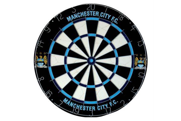 Manchester City Football Club Dartboard