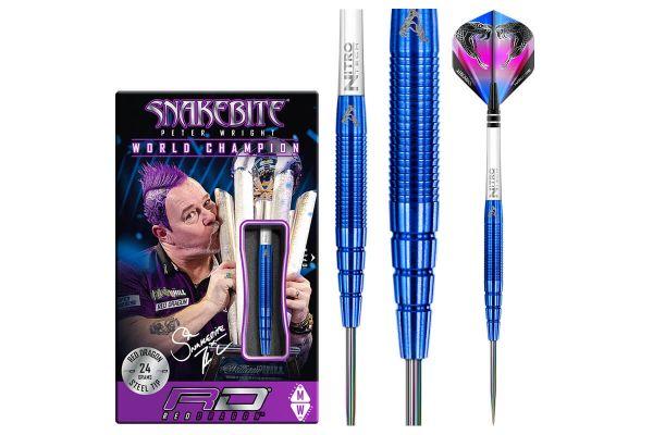 Peter Wright Snakebite Blue PL15: 24 gram