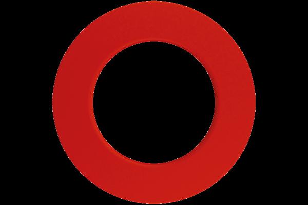Plain Red Dartboard Surround