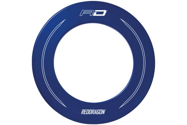 Red Dragon Branded Blue Dartboard Surround