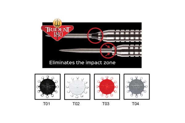 Red Dragon Trident 180 - Dart Point Cones