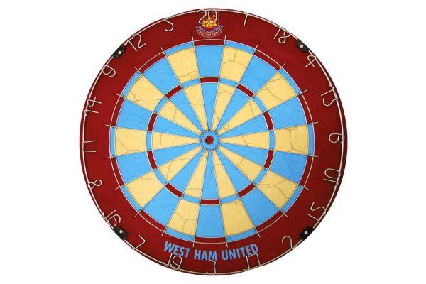 West Ham United Football Club Dartboard