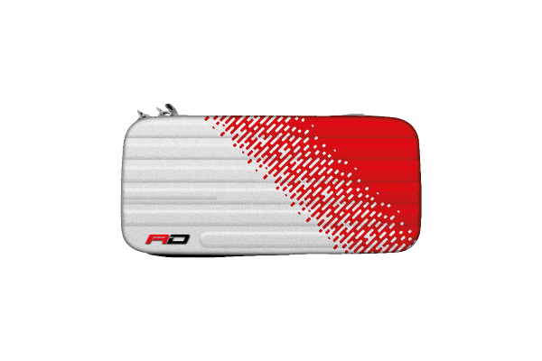 Red Dragon Monza Red and White Dart Case